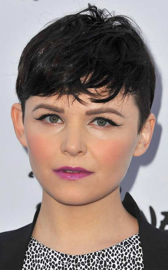 Ginnifer Goodwin short Pixie Fringe Haircuts
