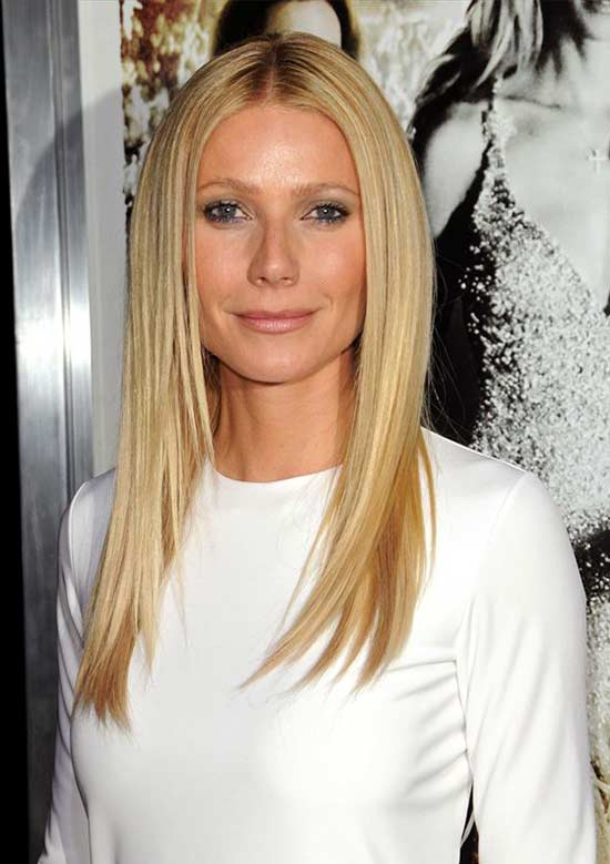 long hair styles for fine hair 21 gorgeous hairstyles for thin hair ideas 8756 | Gwyneth Paltrow Long hair for thin Hair