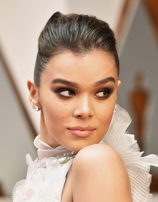 Hailee Steinfeld Wedding Hairstyle