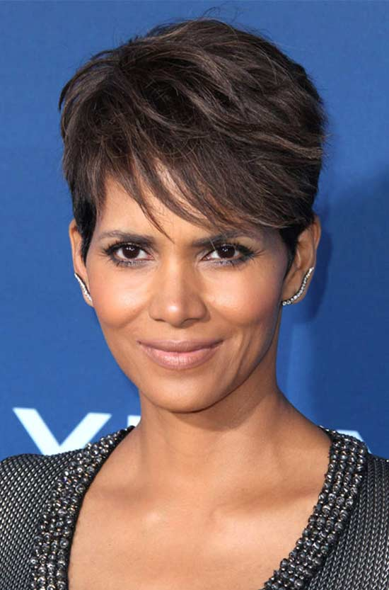 Halle Berry short Fringe