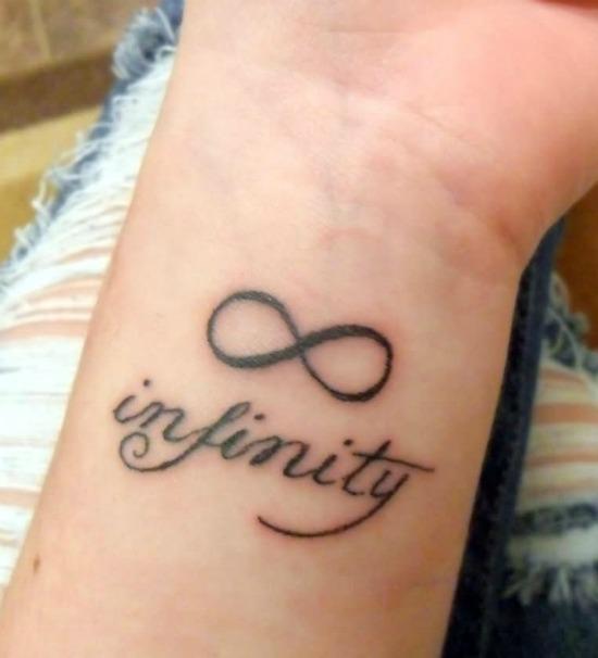 Infinity Tattoo On Wrist