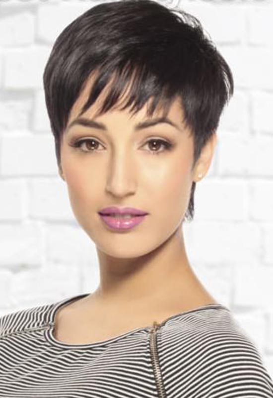 Irma Hirthe Short Hairstyles with-Bang