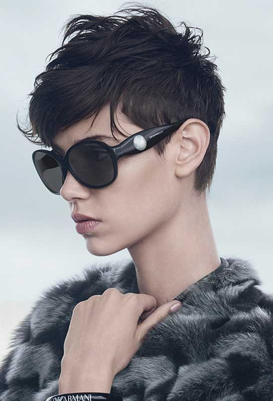 Isis King Pixie Cut