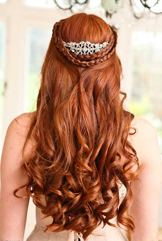 Isla Fisher Wedding Hair styles