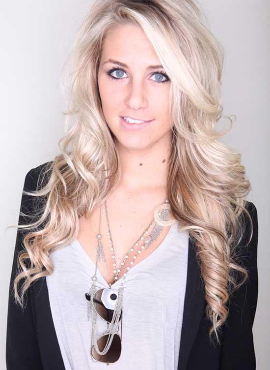 Jaimee Allen Blonde Hairstyle
