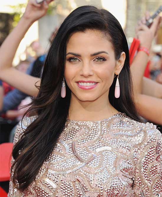 Jenna Dewan Straight Hair Color for Dark Brown Hair