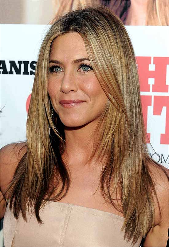 Jennifer Aniston Fine Hair