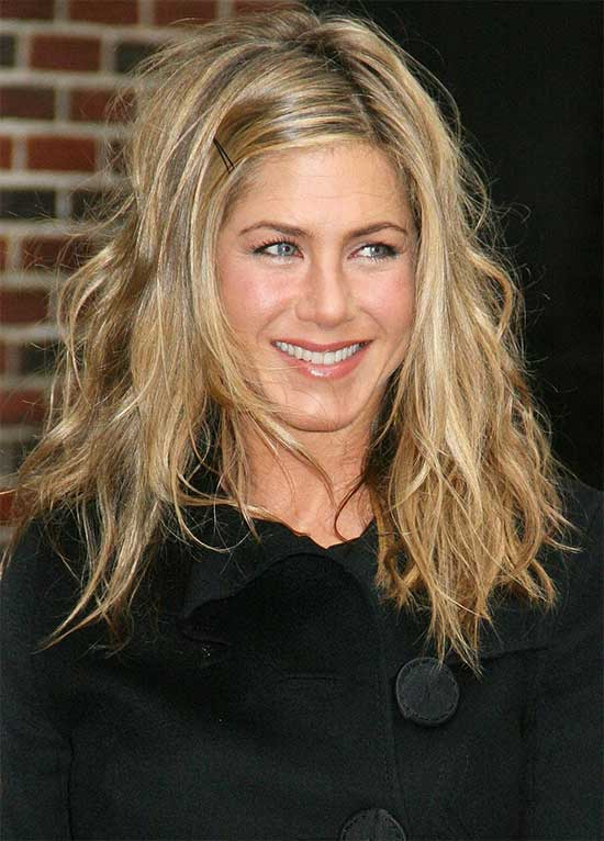 Jennifer Aniston Layered Medium shag hair cuts