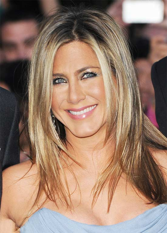 Jennifer Aniston Long hair for thin Hair