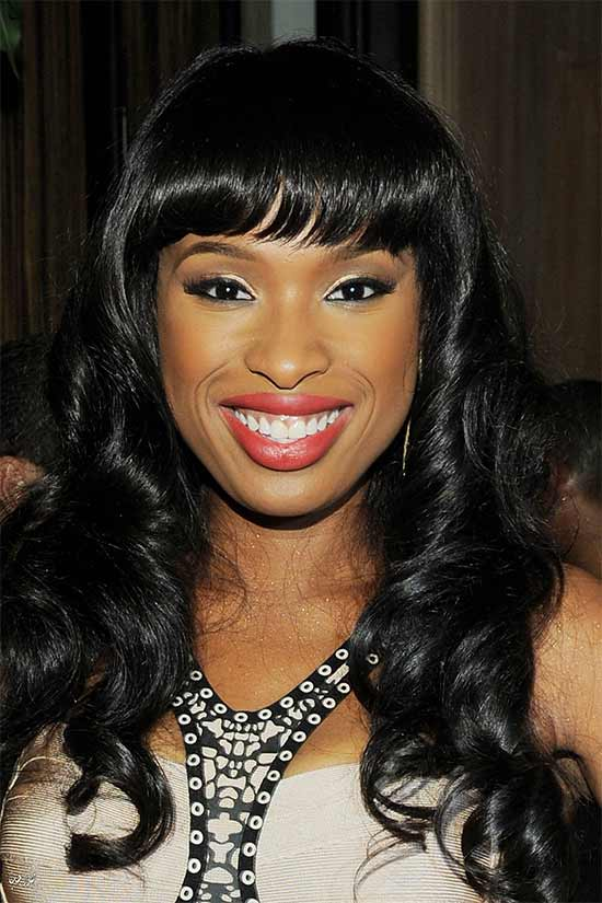 Jennifer Hudson Hairstyles With Bangs For Black