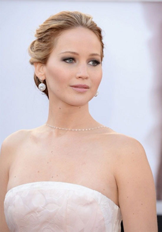 Jennifer Lawrence Wedding Hairstyle