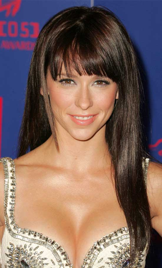 Jennifer Love Hewitt Long Hair styles With Bangs