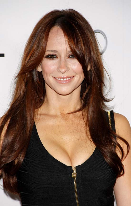 Jennifer Love brown hair style