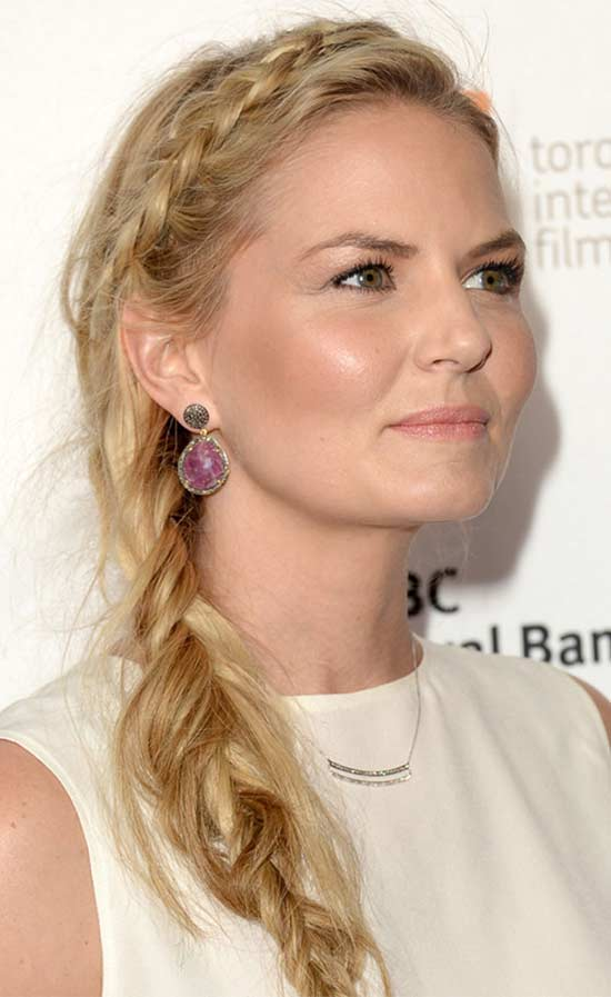 Jennifer Morrison Braided Hairstyle