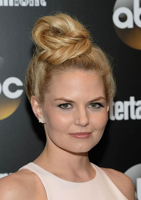 Jennifer Morrison Updo For Thin Hair
