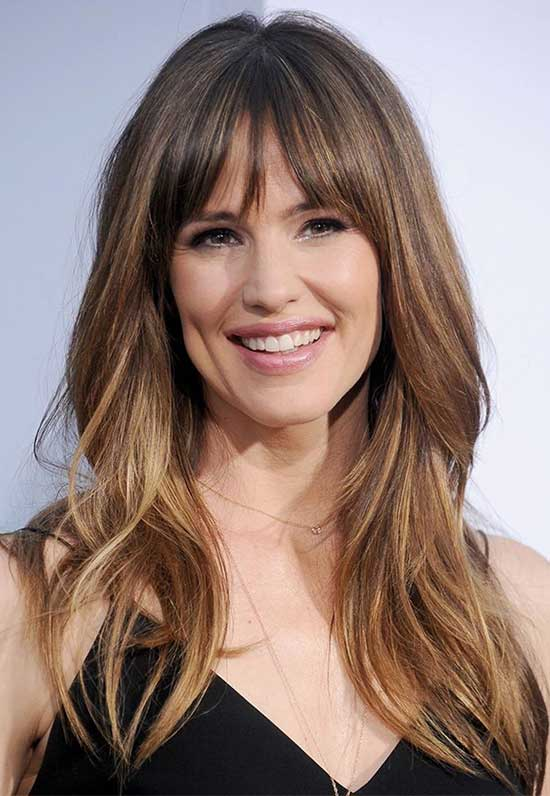 Jennifer garner Best Fringe Hairstyles