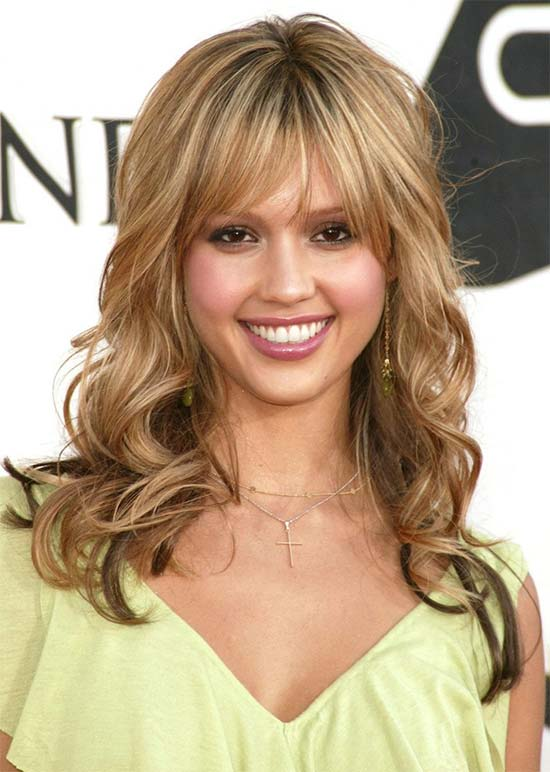Jessica Alba_ Honey Blonde Brown Hair