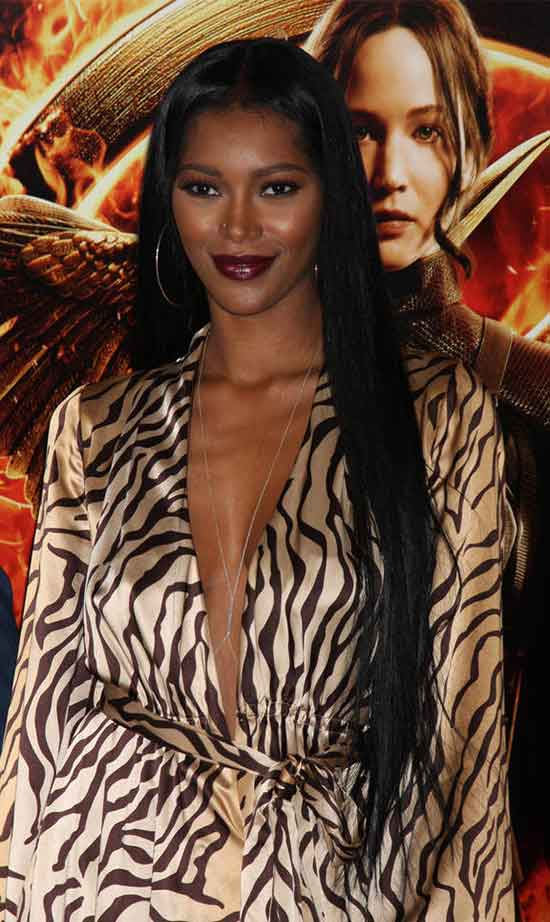 Jessica White Long Hair style for Black Women