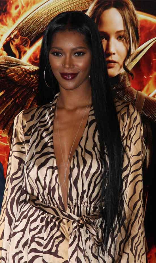 Jessica White Long Hair style for Black Women