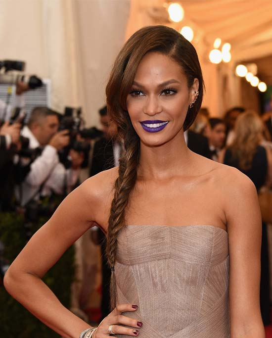 Joan Smalls Braided Hairstyle