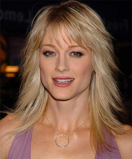 Joely Richardson Shaggy haircut for girls