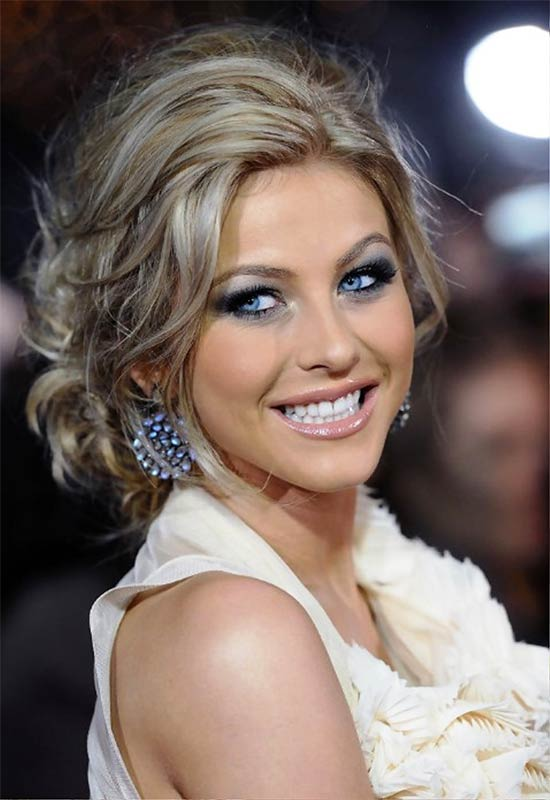 Julianne Hough Prom Updo Hairstyle