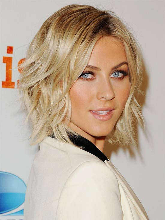 Julianne Hough short-shag-bob-hair-style