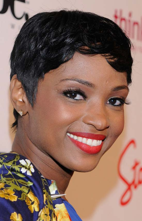 K Michelle Pixie Haircut