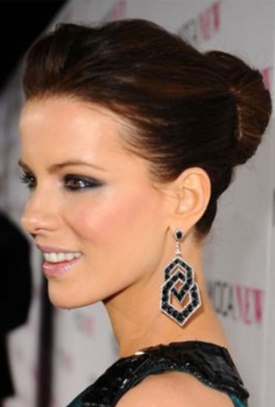 Kate Beckinsale Updo For Thin Hair