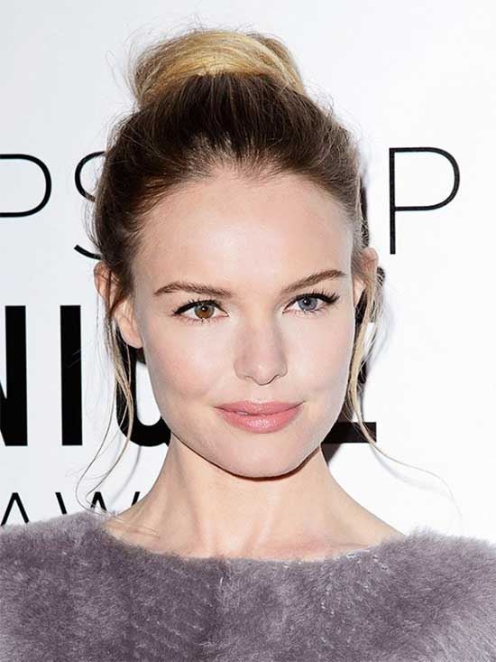 Kate Bosworth messy Updo for long hair