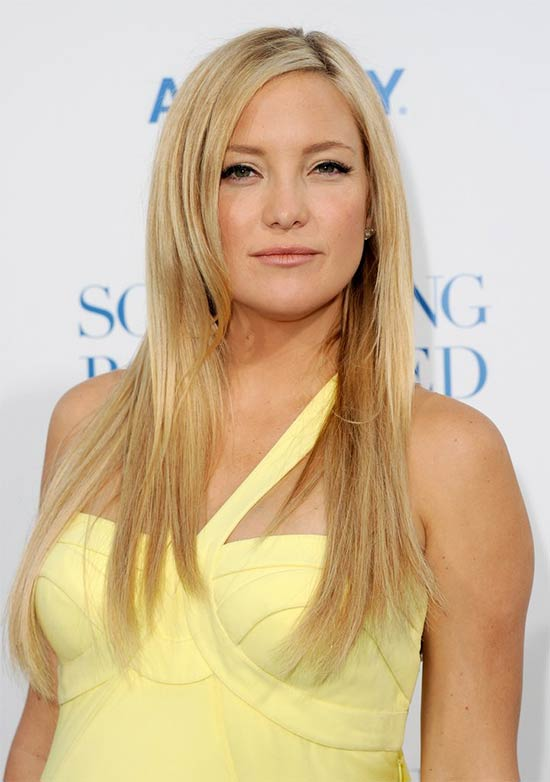 Kate Hudson Blonde Hairstyle