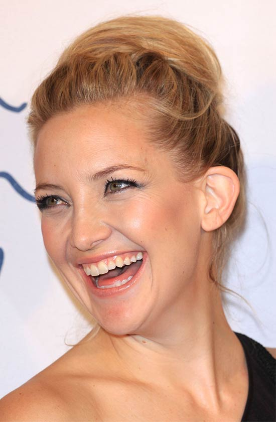 Kate Hudson UPDO hair styles for Black Women