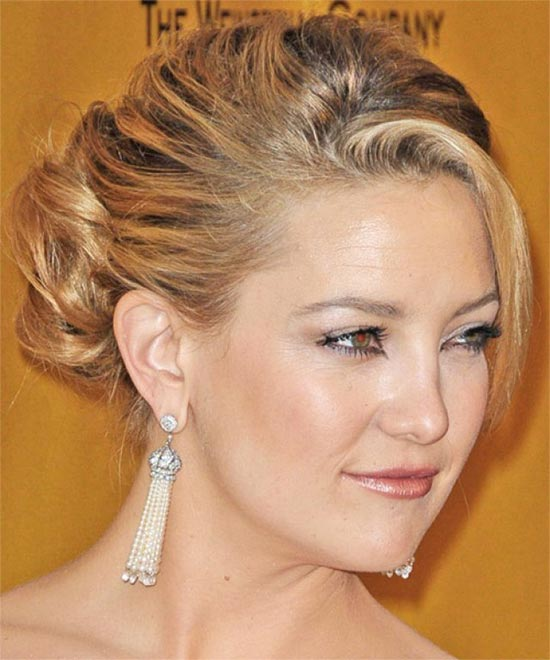 Kate Hudson Updo for Long Hair