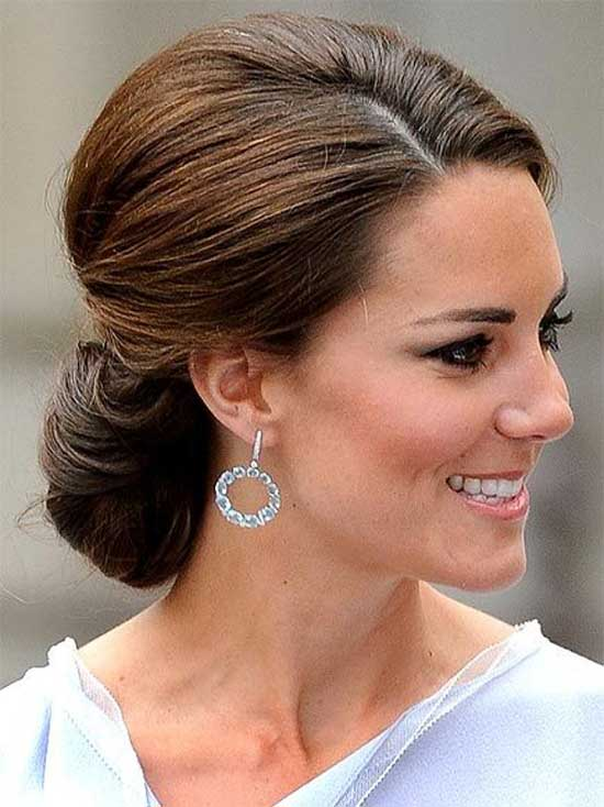 Kate-Middleton Updo For Thin Hair