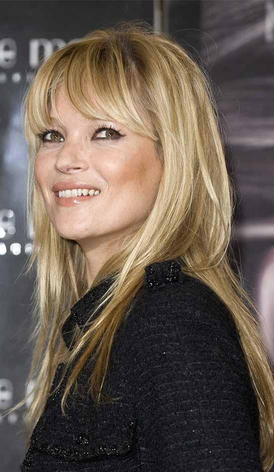 Kate Moss Fine Hair