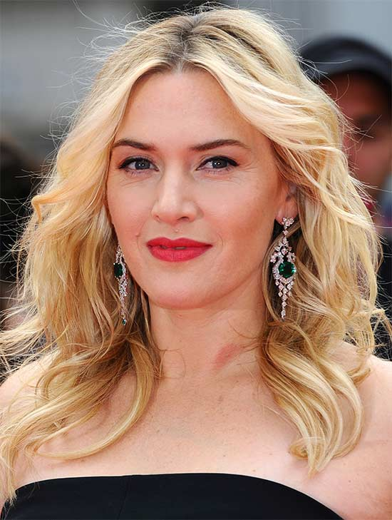 Kate Winslet length shaagy Hair cut