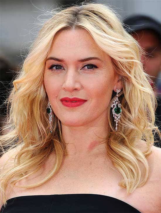 Kate Winslet length shaagy Hair cut