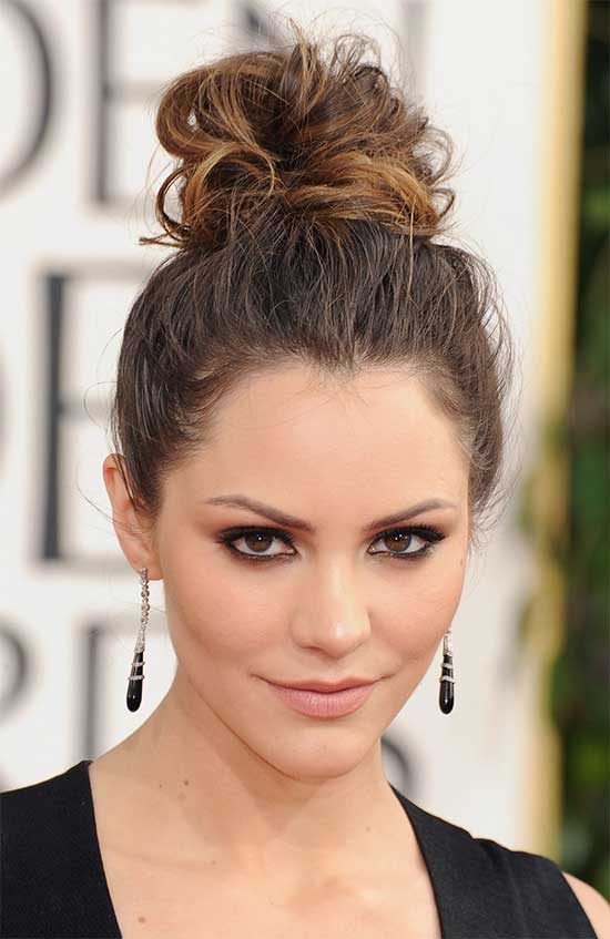 Katherin Updo For Thin Hair