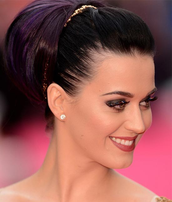 Katy Perry Updo for Long Hair