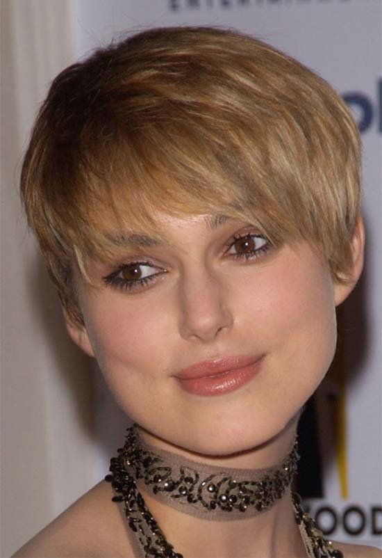 Keira Knightley Short Blonde Hairstyles