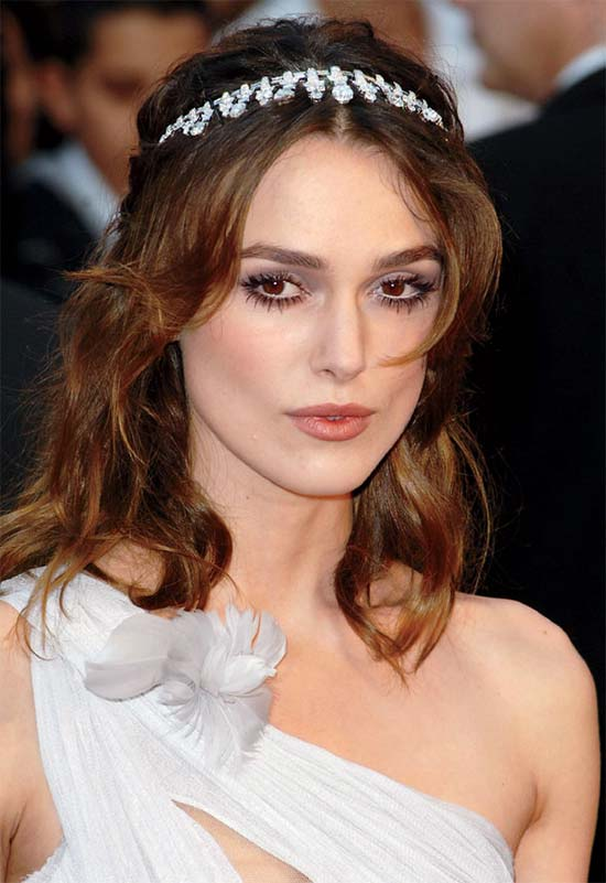 Keira Knightley Wedding Hairstyle