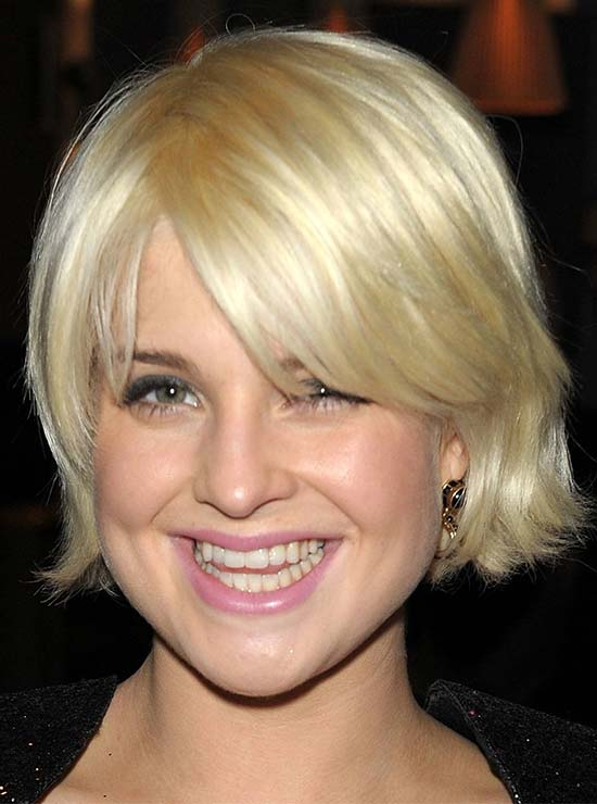 Kelly Osbourne Short Blonde Hairstyles