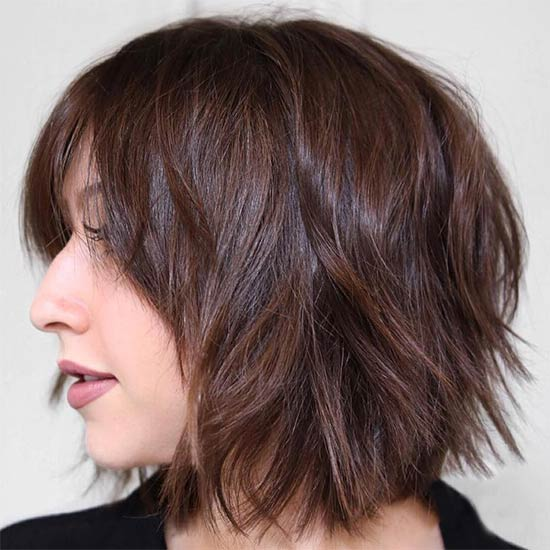 Kenni Coulter Short shag hairstyles