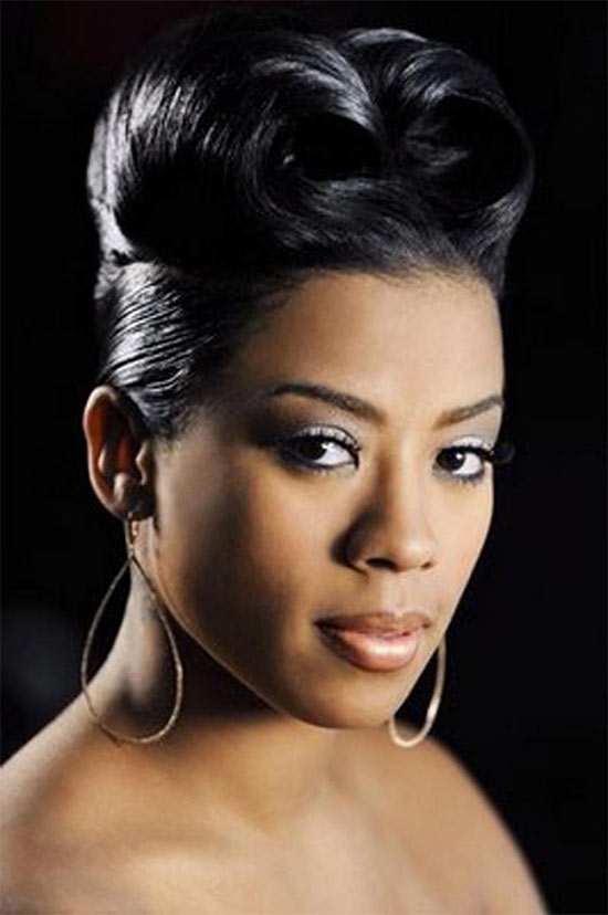 Keyshia Cole UPDO hair styles for Black Women