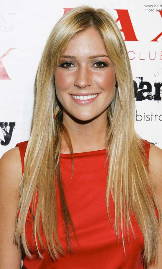 Kristin Cavallari Long Straight Hair