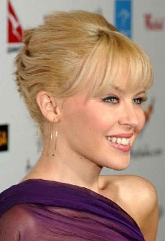 Kylie Minogue French Twist