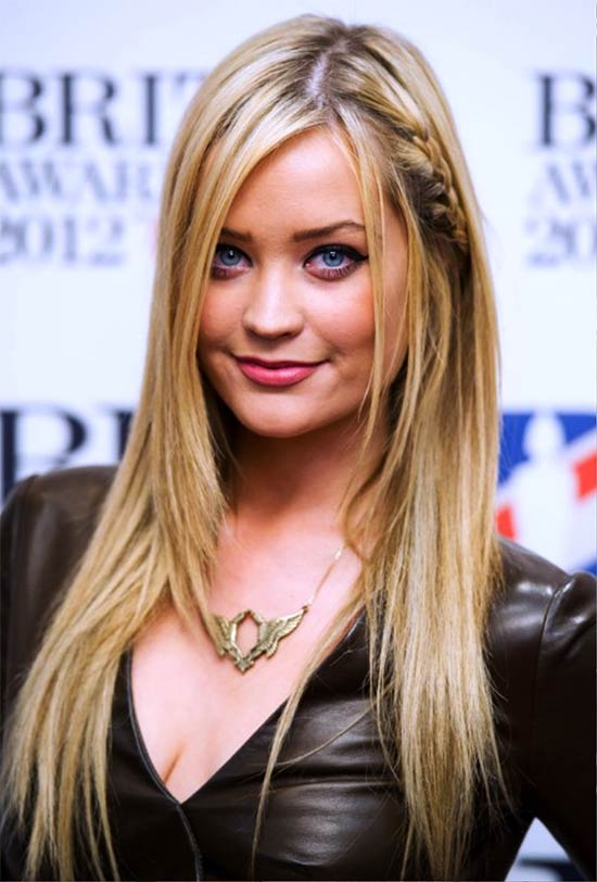 Laura Whitmore Braids For Straight Thin And Fine Hair With Layers