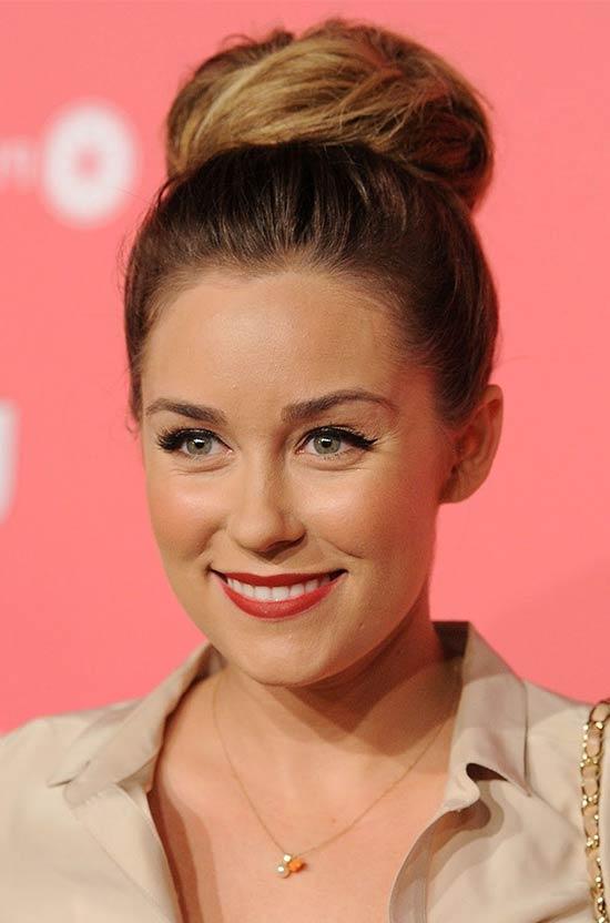Lauren Conrad Bun Hairstyle