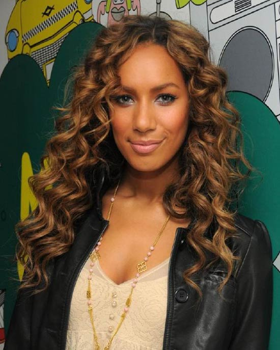 Leona Lewis Long Curly Hair Styles