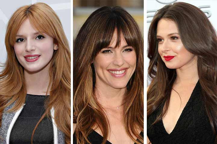 20 Cute Long Layered Haircuts With Bangs To Make You Look More ...